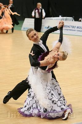 Новиков Иван - Клименко Маргарита, Чемпионат Москвы по Стандарту 2009