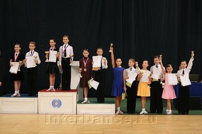 Финалисты первенства Москвы по 8 танцам в категории Дети-2