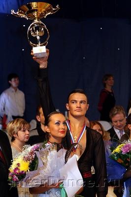 Алексей Сильде - Анна Фирстова, победители Чемпионата России по Латине-2009