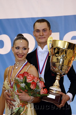Марат Гимаев - Алина Басюк, Чемпионат России по Стандарту-2009