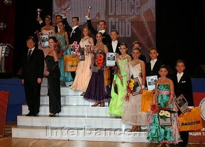 Финалисты Юниоры-2 Стандарт, Diamond Cup-2009