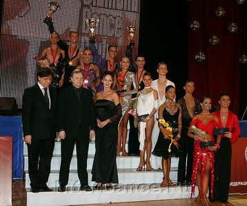 Финалисты IDSF World Junior-II Ten Dance, Diamond Cup-2009