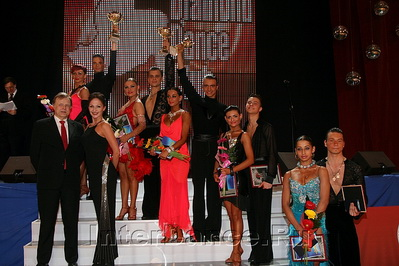 Финалисты IDSF Open Latin, Diamond Cup-2009