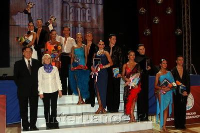 Финалисты Первенства Поссии Молодежь 10 танцев, Кубок Диаманта-2009