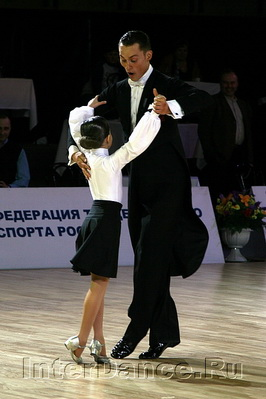 Марат Гимаев и Юлия Хуртина, танец победителей, Танцфорум-2009